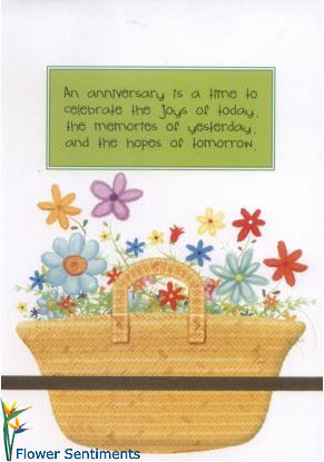 Send An anniversary is a time to celebrate the joys of today. on Wedding Anniversary to Pakistan