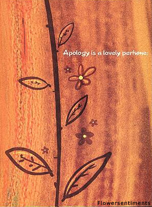 Send Apology is a lovely perfume... to Pakistan