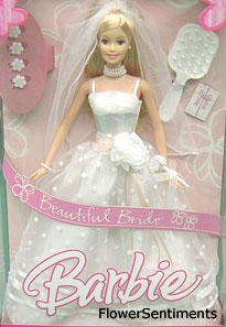 Send Barbie Beautiful Bride on Dolls to Pakistan