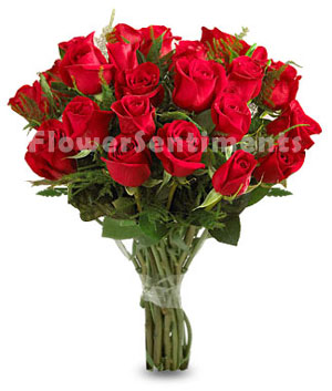 Send Be mine valentine roses bouquet to Pakistan