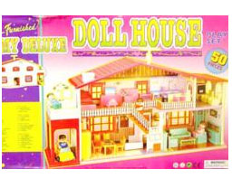 Send Deluxe Doll House 25 piece on Toys 4 Kids to Pakistan
