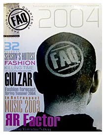 Send FAQ ( Quarterly ) on Fashion Magazines to Pakistan