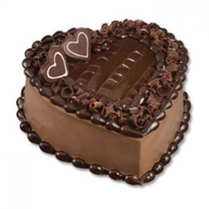 Send Heart Shaped Chocolate Cake from five star hotels on Cakes to Pakistan