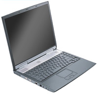 Send IPC Powernote A 14 INCH TFT, AMD mobile 1600, Wireless Lan, DVD CD-RW combo on Laptops Computers to Pakistan