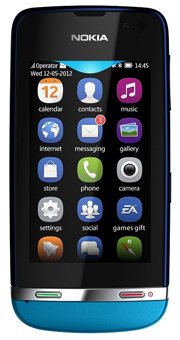 Send Nokia Asha 311 on Nokia to Pakistan