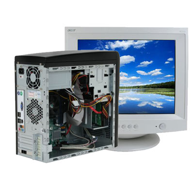 Send P4 Computer with Monitor to Pakistan | P4 Computer with