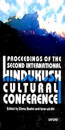 Send Proceedings of the Second International Hindukush Cultural Conference by on Way to Pakistan to Pakistan