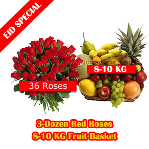 Send Rosee and Fruity Eid Package  on Eid  to Pakistan