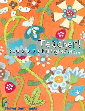 Send Teacher, you are the vital ingredient... on Teacher to Pakistan