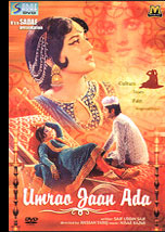 Send Umrao Jaan Ada (DVD) on Pakistani Films to Pakistan