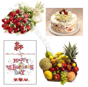 Send Valentine Premium Package to Pakistan