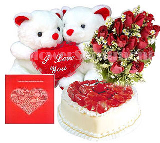 Send Valentines Day for very Special One on Valentines Day  to Pakistan