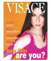 Send Visage ( Quarterly ) on Fashion Magazines to Pakistan